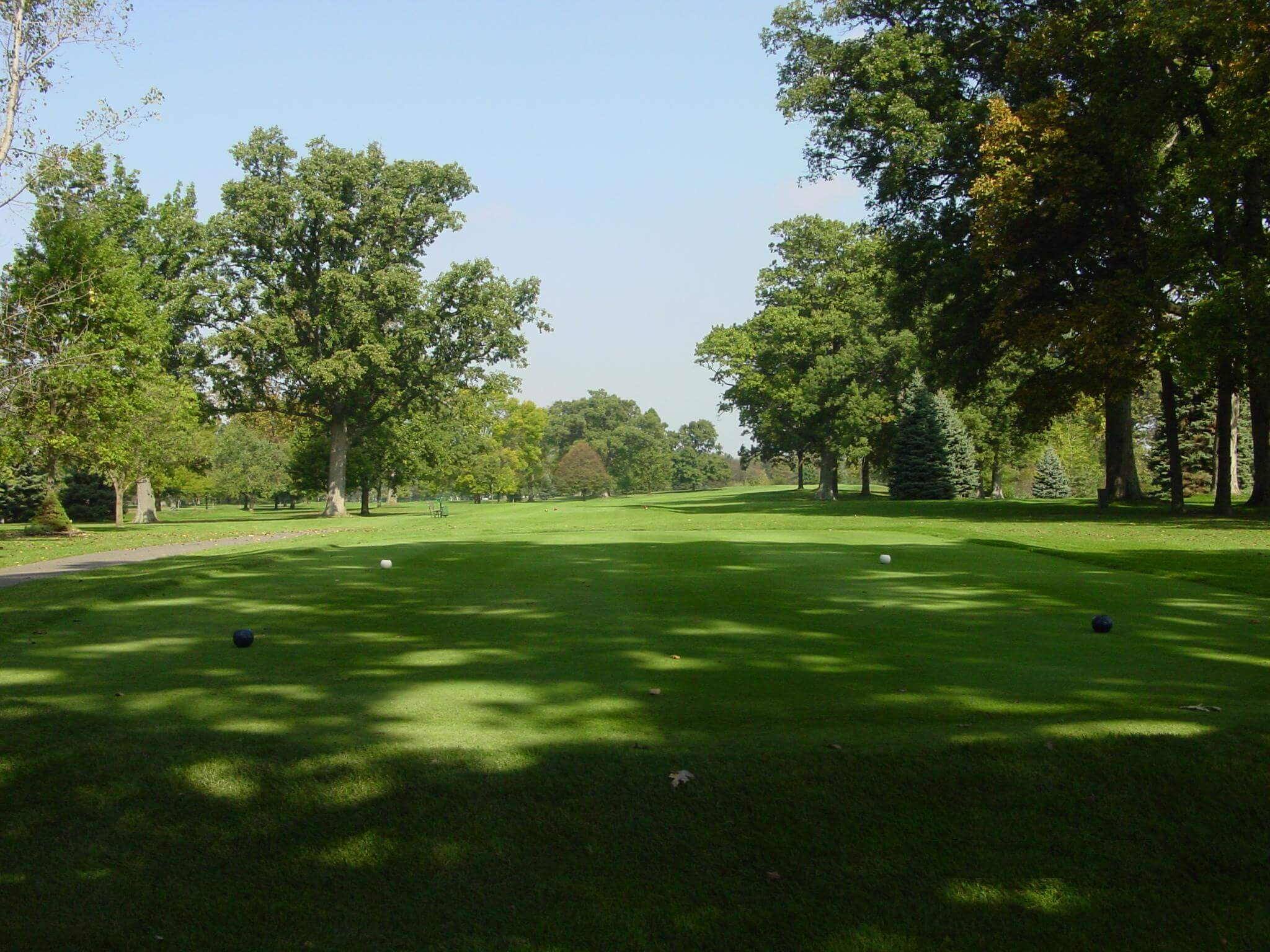 Hole 10 on the golf course