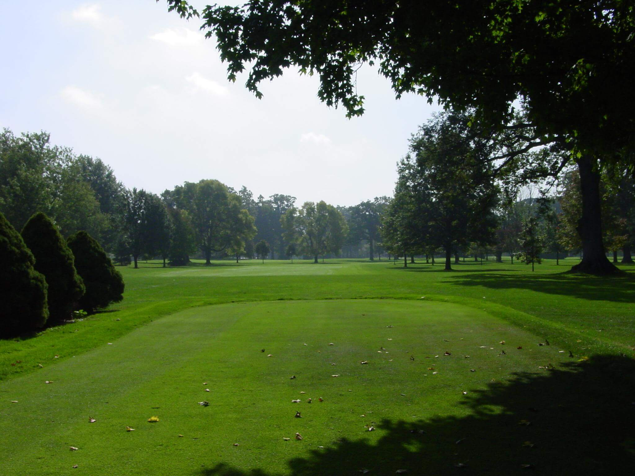 Hole 13 on the golf course