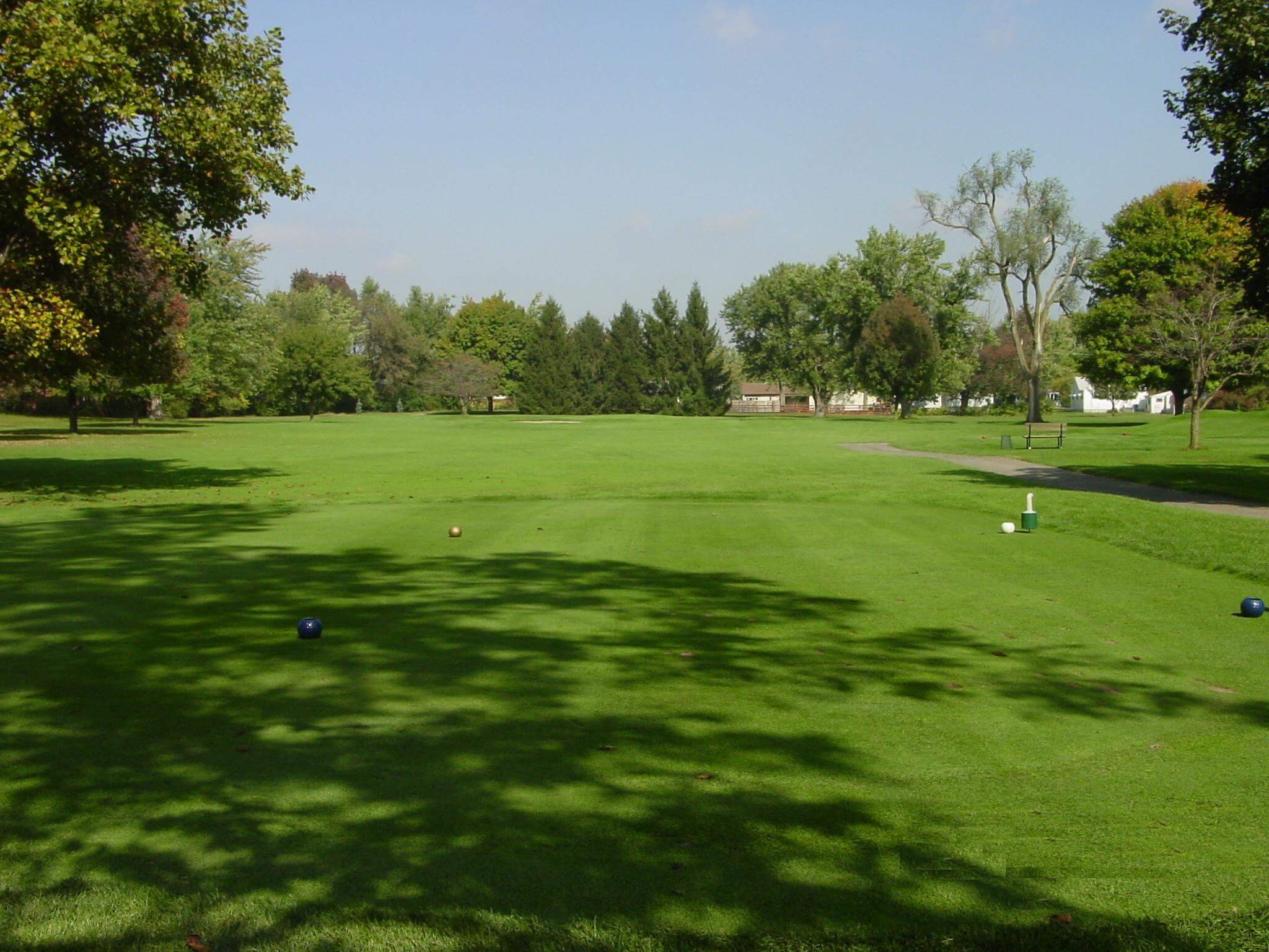 Hole 15 on the golf course