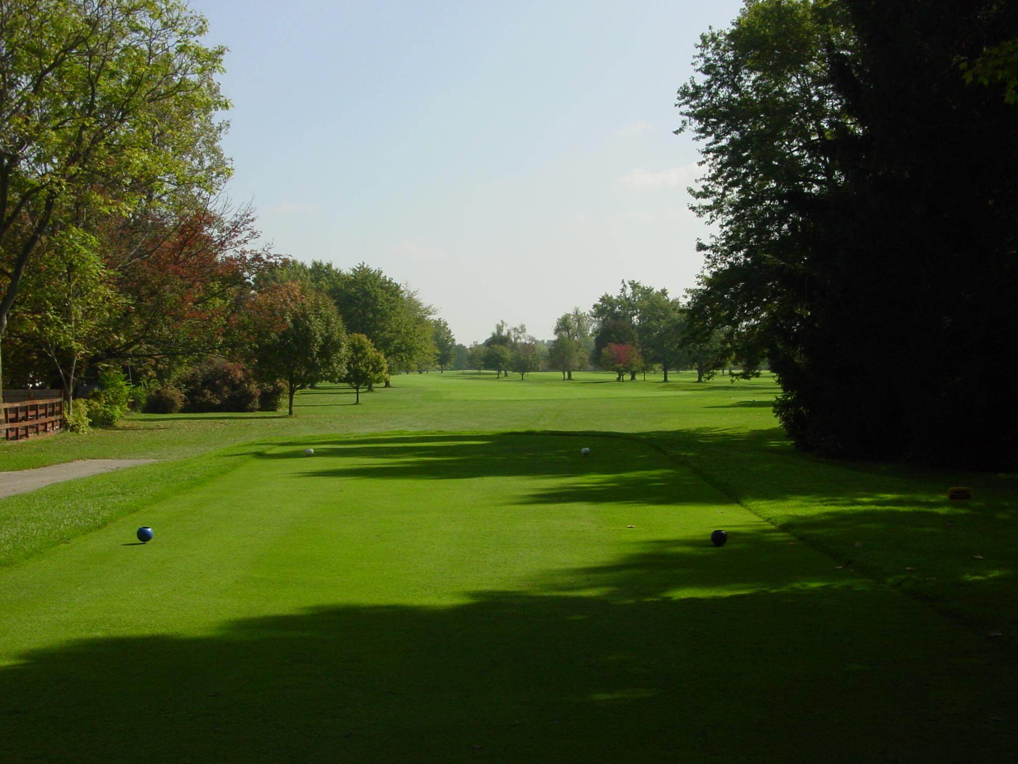 Hole 16 on the golf course