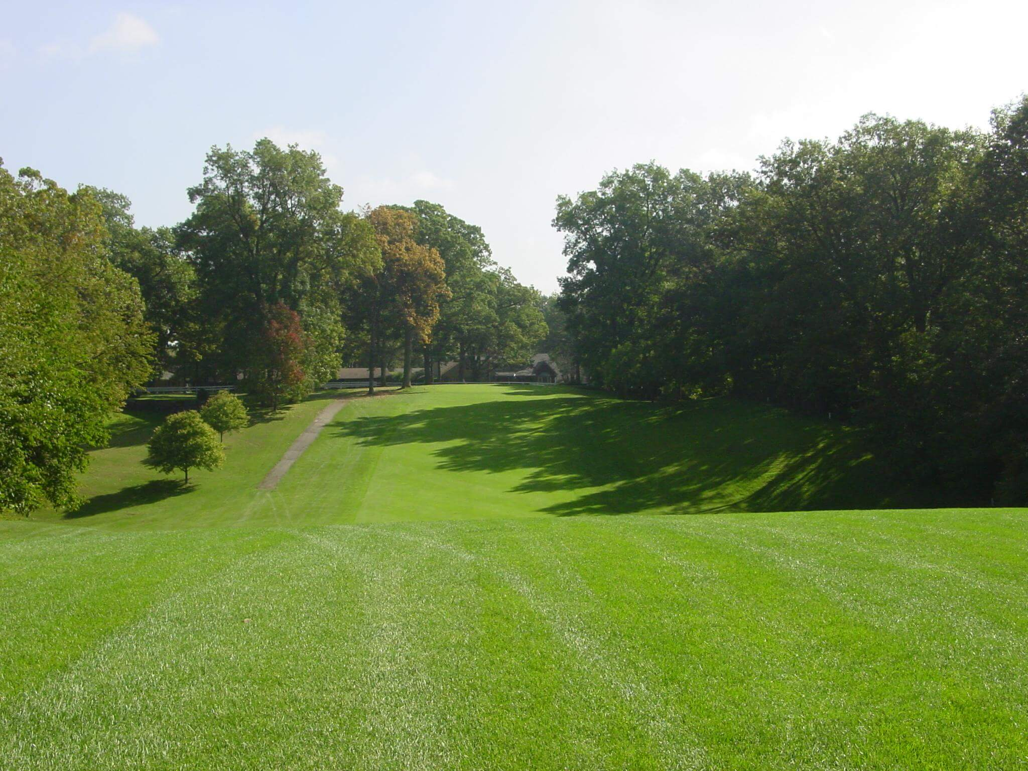 Hole 6 on the golf course